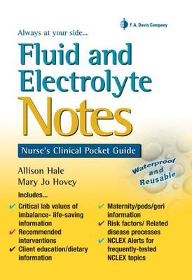 Fluid And Electrolyte Notes
